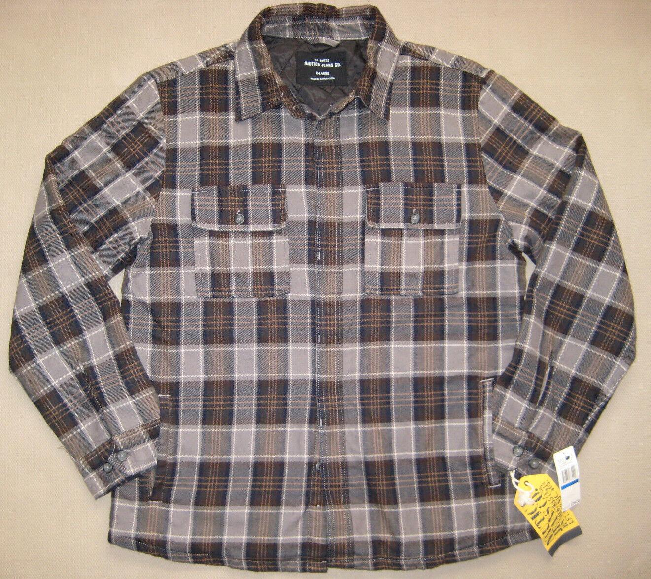 Veste / chemise doublée Nautica.Hommes.S / M.TN-O.79 $.Idéal pour les occasions de plein air.