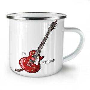 Musician NEW Enamel Tea Mug 10 oz | Wellcoda