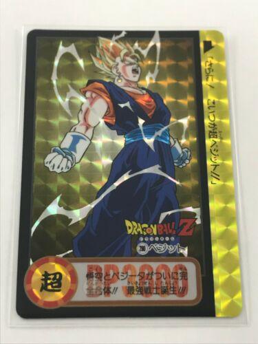 used-japanese version Card dragon ball z-tcg-carddass hondan-prism #926