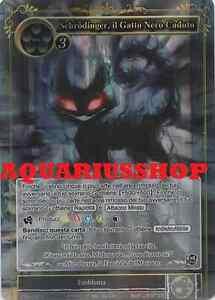 Schrodinger il Gatto Nero Caduto the Fallen Black Cat FoW TTW-100 R Ita//Eng