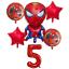 Spiderman-Balloon-Kit-Spider-man-30-039-039-Age-Number-Happy-Birthday-6-Party-Balloons thumbnail 8