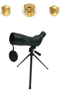 60mm-15x-45x-Spotting-Scope-Zoom-Monocular-w-Tripod-Carrying-Case-FAST-SHIP
