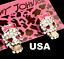 US-Seller-Betsey-Johnson-Halloween-Crystal-Sugar-Skull-Stud-Earrings thumbnail 7