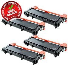 4 High Yield TN660 TN630 Black Toner Cartridge HL-L2300D For Brother DCP-L2540DW
