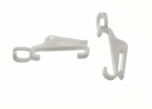 pack  24 NEW CURTAIN RAIL TRACK GLIDE GLIDER HOOKS TO FIT SWISH FASTRACK