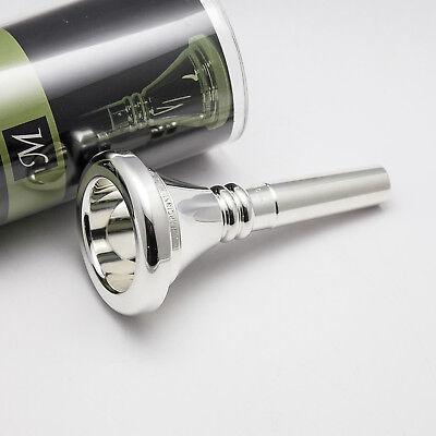 Genuine Marcinkiewicz Silver Tuba Mouthpiece Ships Fast! 24AW NEW