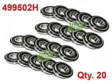 20 499502h Double Sealed Bearings Withretainer Ring 1 38 Od X 58 Id