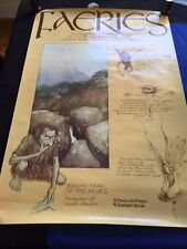 FAERIES: PROMOTIONAL POSTER - BY BRIAN FROUD