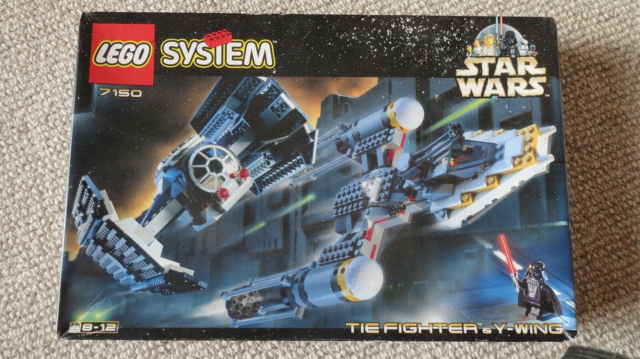 Lego Star Wars, Art 7150, Tie Fighter & Y-Wing  Uåbnet