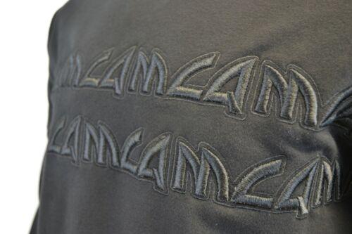 MCQ EMBROIDERED CHUNKY TEXT LOGO SWEATSHIRT JUMPER BLACK RARE ALEXANDER MCQUEEN