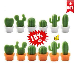 6Pcs-Set-Mini-Cute-Cactus-Fridge-Magnets-Refrigerator-Magnet-Stickers