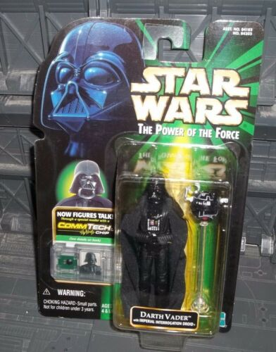 Star Wars POTF series Commtech Darth Vader avec interrogation Droid Figure
