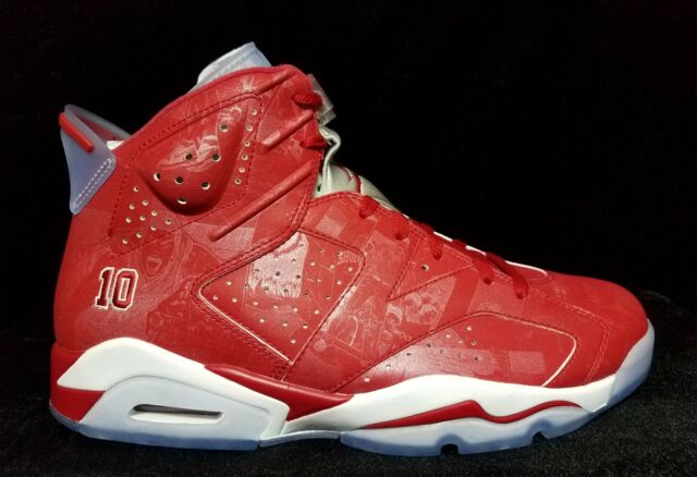 aedada75786e17 Nike Air Jordan VI Retro 6 Slam Dunk Varsity Red White 717302-600 ...