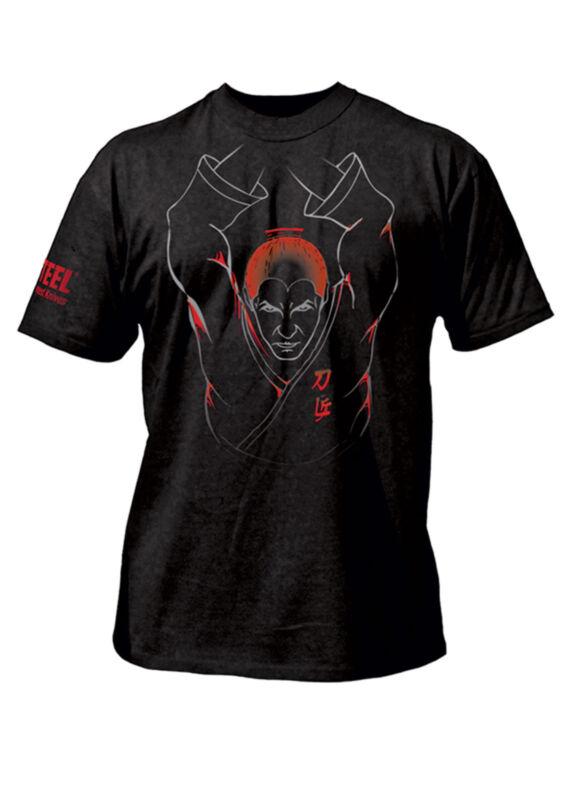 Cold Steel T-shirt Samurai Krieger Schwarz Kurzarm S-xxl