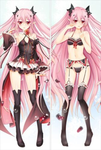 Krul Tepes Body Pillow Anime Waifu Dakimakura Gift UK Seraph of the End