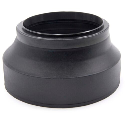 LENS HOOD RUBBER 72mm black for Sony HDR-FX1000 HXR-NX5