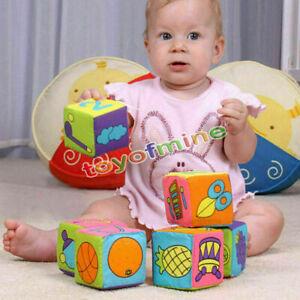 6pcs-7cm-Baby-anello-con-sonagli-peluche-giocattoli-educativi-Morbido-Panno-Blocchi-di-costruzione