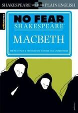 No Fear Shakespeare: Macbeth by SparkNotes Staff and William Shakespeare (2003, Paperback)