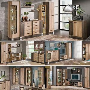 Das Bild Wird Geladen Wohnzimmer Set ROMERO Moebel Set Wohnwand Esszimmer  Set