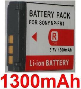 Akku-1300mAh-Typ-NP-FR1-fuer-Sony-Cyber-Shot-DSC-P100-R