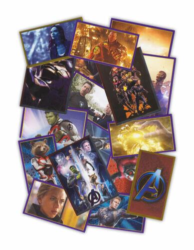 Marvel Avengers guérisseur tous les autocollants et trading cartes sélection unique de
