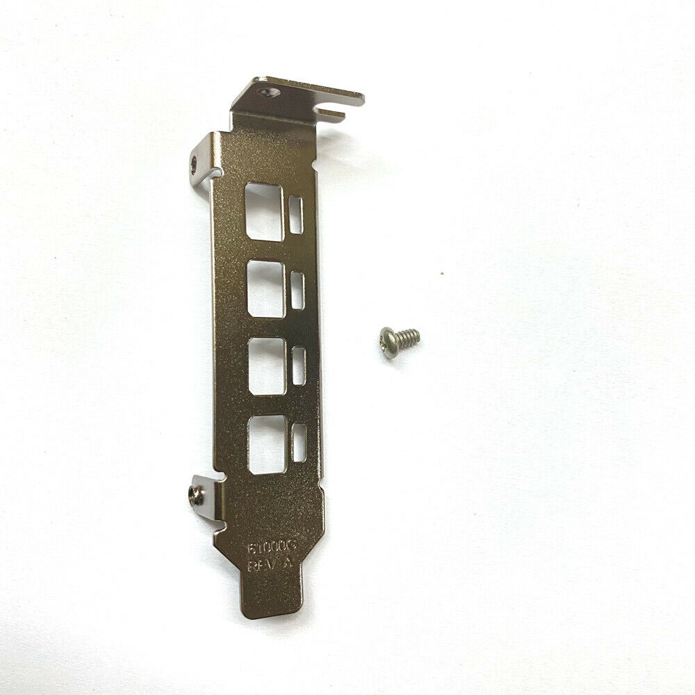 5pcs Low Profile bracket For AMD FirePro Radeon WX4100 WX 4100 WX3200 WX 3200