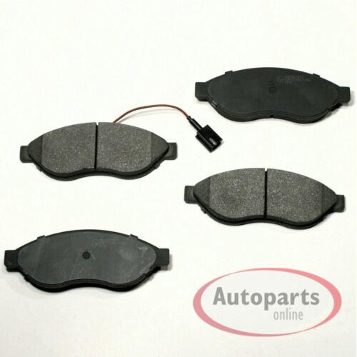 Bremsbeläge Bremsklötze Bremsen Warnkabel für vorne hinten Fiat Ducato