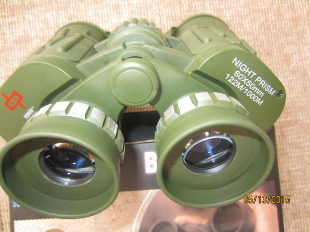 Brand new Day/NightPrism 60-50 Zoom Binoculars CAMO.New Model