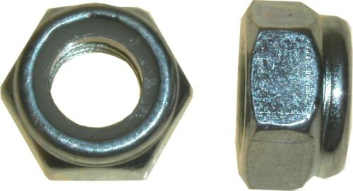 Nuts Nyloc 16mm Thread Uses 21mm Spanner Pitch 2.00mm Per 20