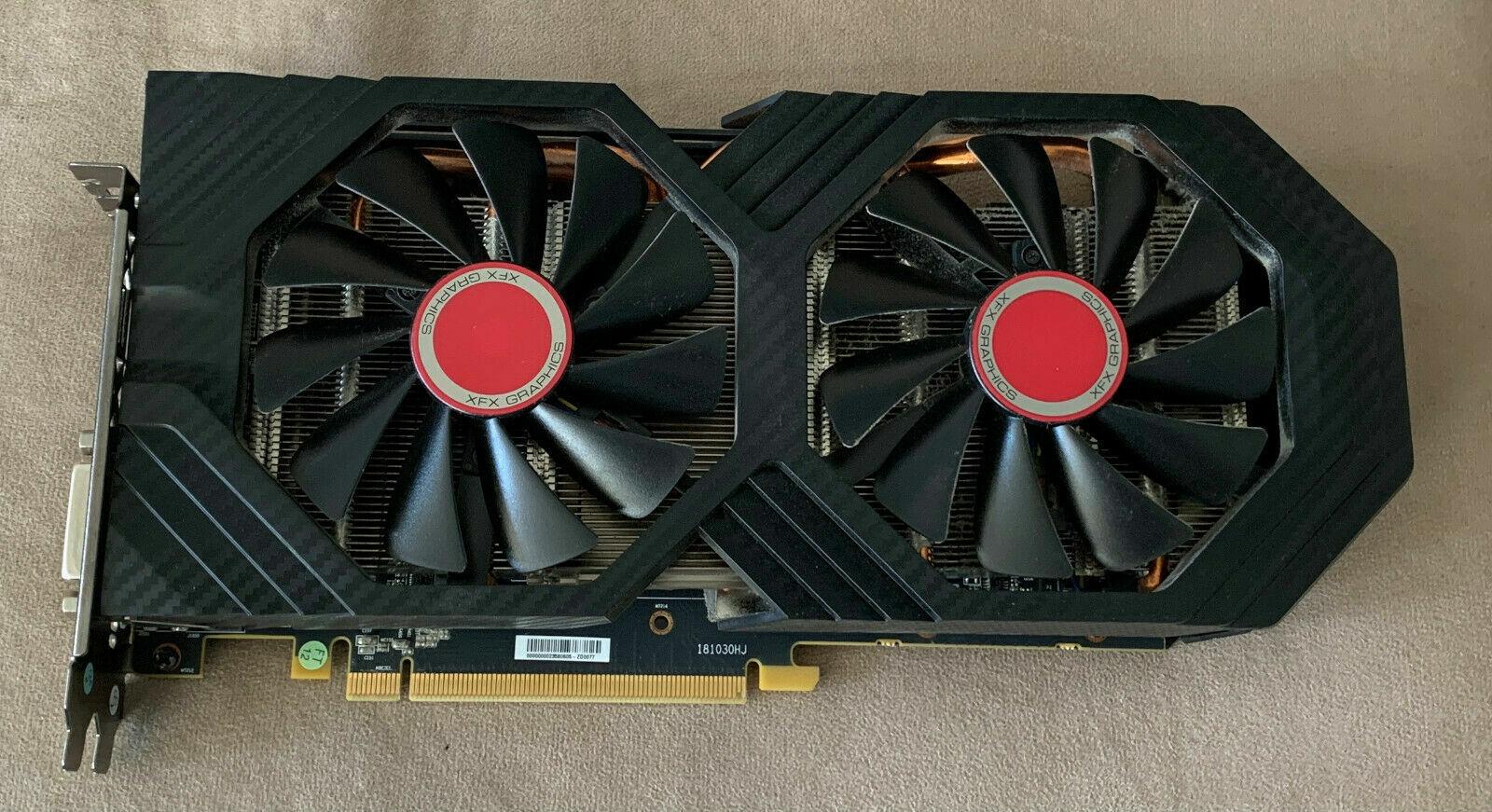 XFX Radeon RX 580 8GB OC GDDR5 RX-580P8D Graphics Card