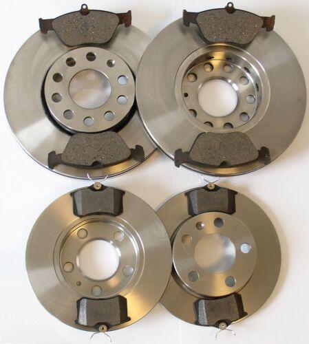 Alfa Romeo 145 146 155 set 4 discos de freno 8 pastillas de freno delantero atrás