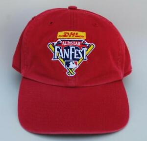 bc24ef4dc20 Details about TWINS ENTERPRISE DHL ALL-STAR FANFEST One Size Red MLB Dad Hat  Baseball Cap