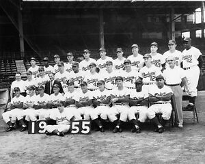1955-BROOKLYN-DODGERS-World-Series-Champions-Champs-Glossy-8x10-Photo-Poster