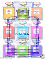 Advertising Poster/Print - Chanel Perfume - Collage/17x22