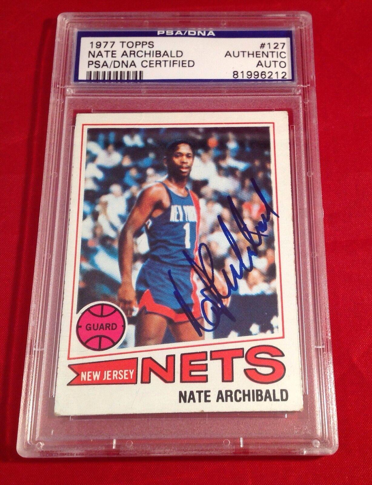 Nate Archibald 1977 Topps Card Slabbed PSA/DNA #81996212