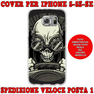 cover iphone se teschio