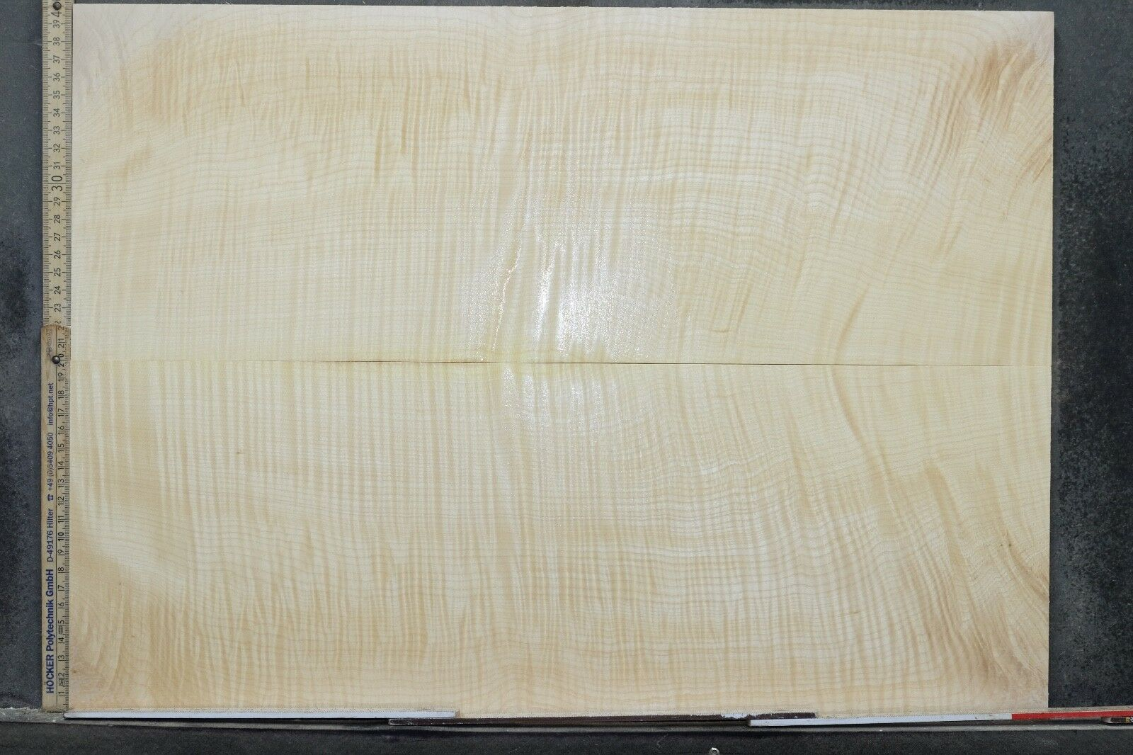 Tonewood Riegel Ahorn Flamed Maple 11 mm Aufleimer Guitar Tonholz Droptop 381