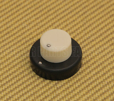 Danelectro Guitar or Bass Concentric Stacked Knob NEW CREAM /& BLACK
