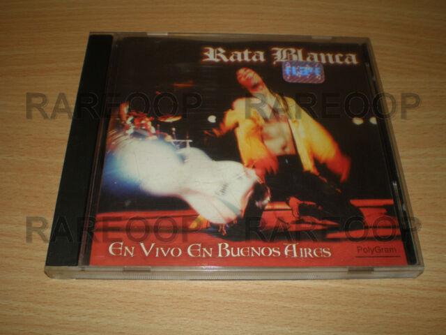 En Vivo en Buenos Aires by Rata Blanca (CD, 1996, Polygram) MADE IN ARGENTINA