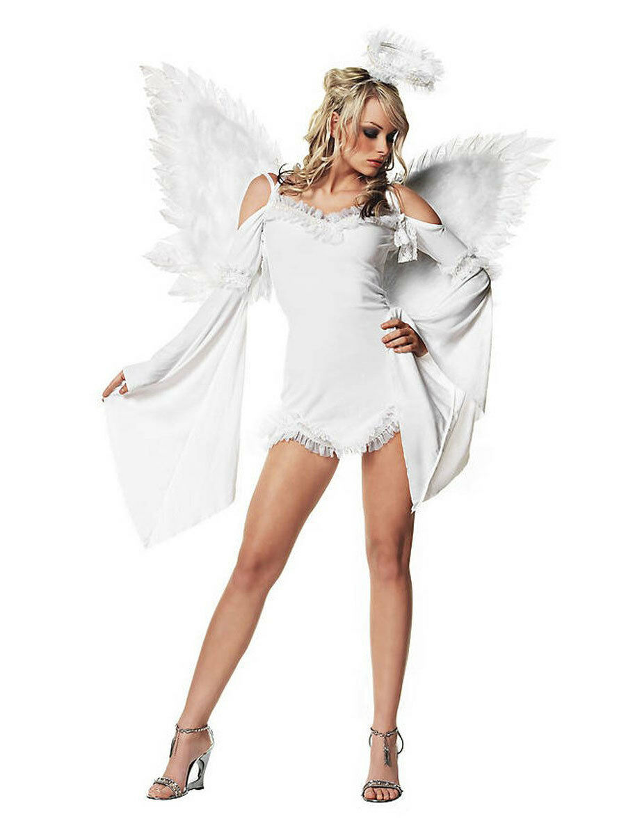 Sexy ange gardien Costume Carnaval ange robe