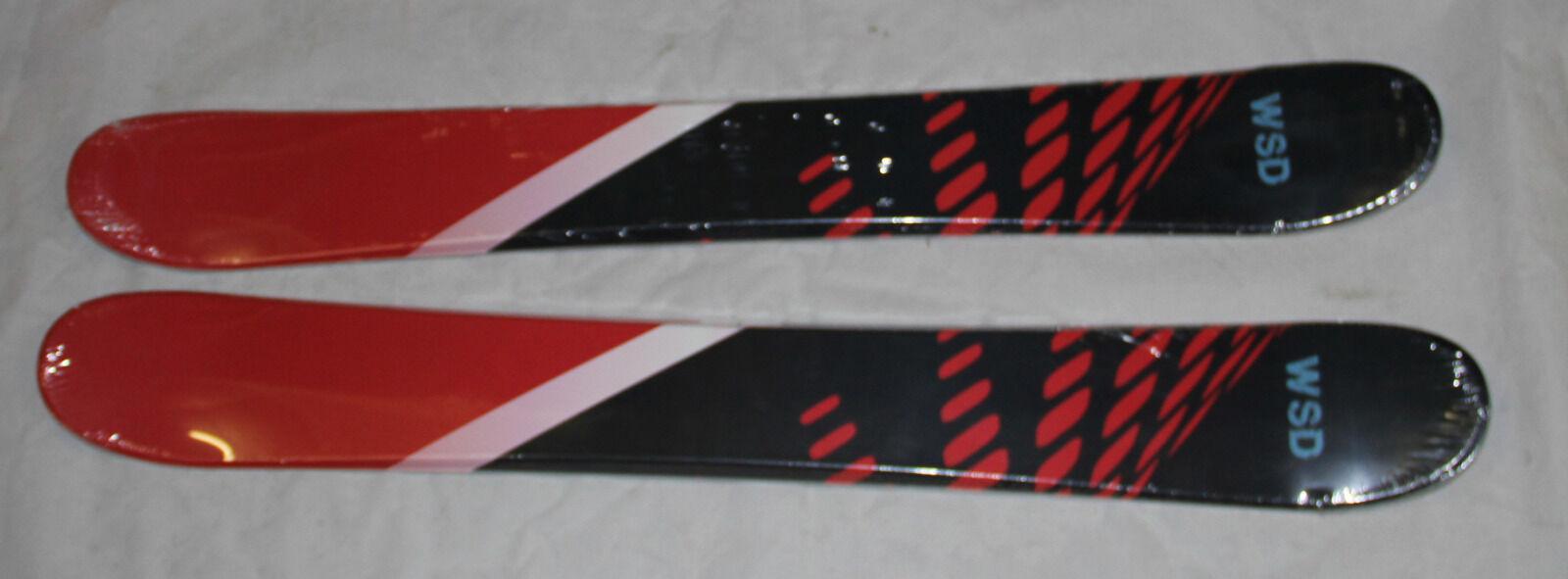 Skiboards snowblades WSD 100cm red dots wide 2018 model flat skiboards NEW