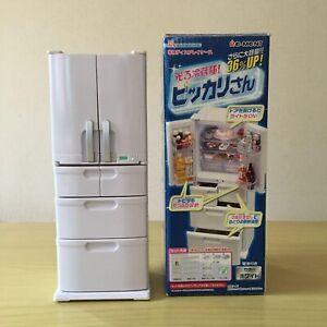 Re-Ment Japan Miniature White Home Fridge Refrigerator Discontinued 2016 Rare