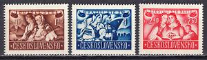 Tschechoslowakei 1946  Mi. 505-07 ** postfrisch / MNH