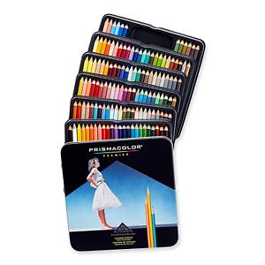 PRISMACOLOR PREMIER Pencil Assorted Colours Box of 132 Colored Pencils
