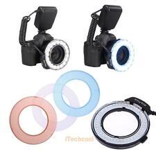 Colorful LED Macro Ring Flash Light RF-550D for Nikon Canon Olympus DSLR Camera