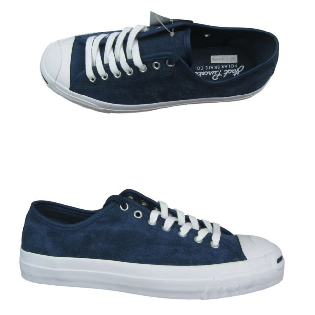 Converse X Polar Jack Purcell Pro Ox Leather 159124C NavyWhite Various Sizes