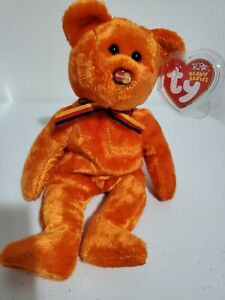 M.C. Beanie III. MasterCard Logo on Nose. New Beanie Baby with Tags.