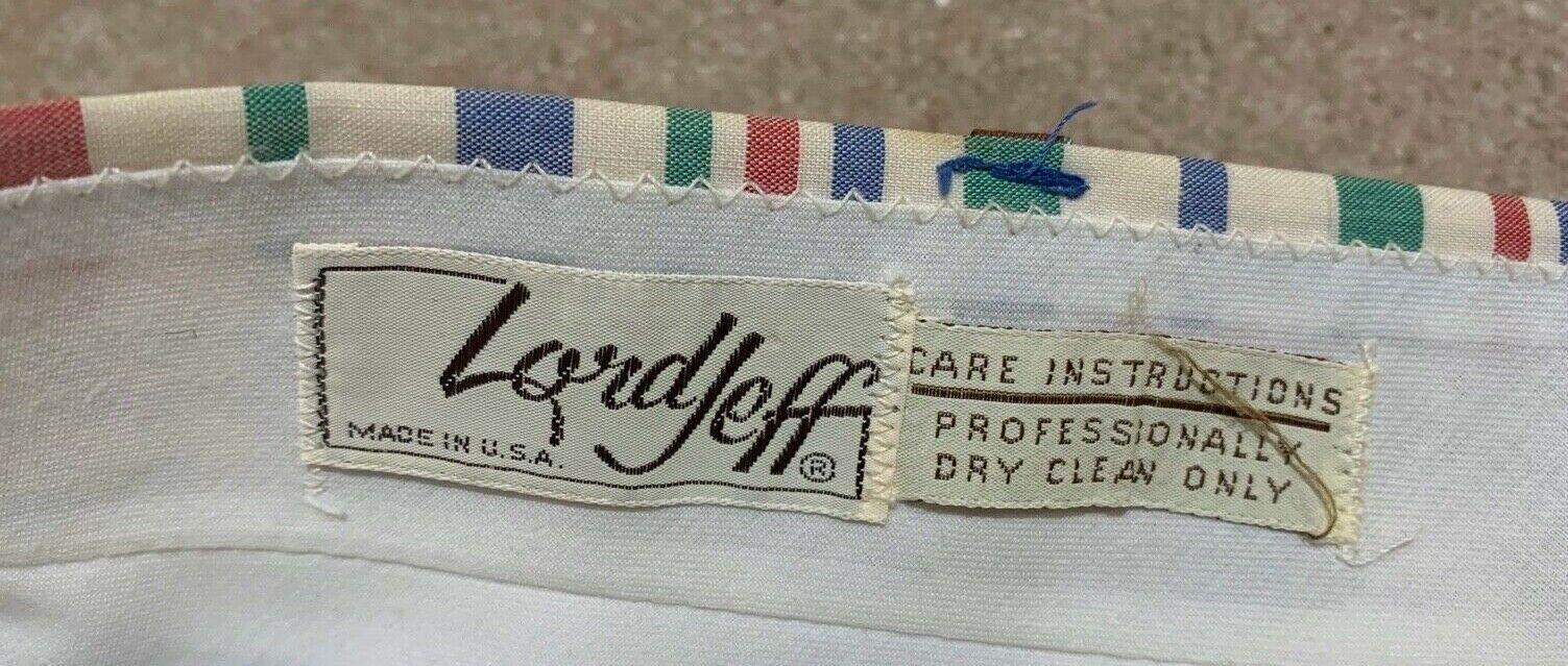 Vintage 1980's Lord Jeff Plaid Preppy Golf Club P… - image 6