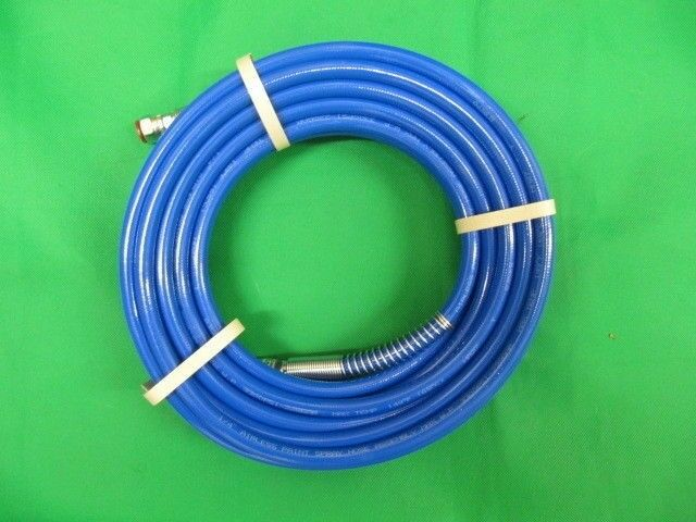 15 metre hose for Airless Sprayer. 3300 Psi working pressure. 15m Air Hose