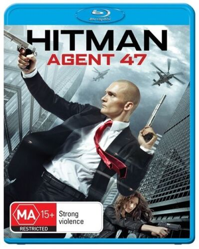 1 of 1 - Hitman - Agent 47 (Blu-ray) Action, Crime, Thriller Rupert Friend, Hannah Ware
